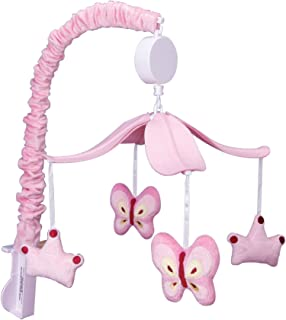 Trend Lab Princess, Butterfly Musical Crib Mobile, Baby Mobile, Nursery