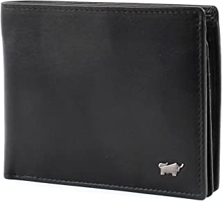 Braun Büffel Edition Wallet Quer Black