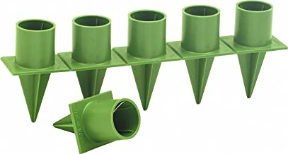 "Taper Candle Holder Standard 1"" Green 36 Pieces Per Package Candleholder"