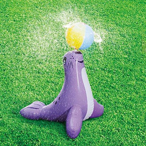 Aufblastier Seelöwe mit Ball Kinderdusche Wasserspitzfunktion