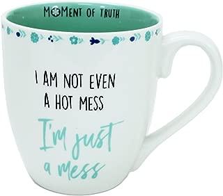 Mary Square Hot Mess 20 Oz. Moment of Truth Ceramic Mug