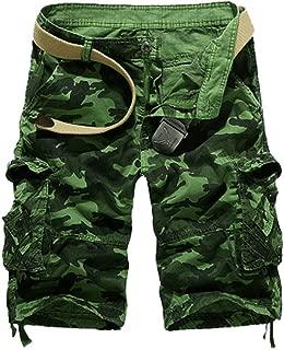 Camouflage Loose Cargo Shorts Men Cool Camo Summer Short Pants Homme Cargo Shorts