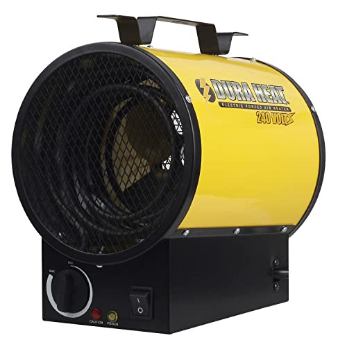 Dura Heat EUH4000 4000W Electric Forced Air Heater, Length: 10.75in, Width: