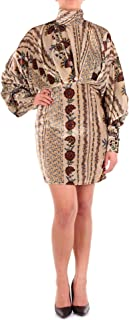 LUCILLE Women's W18L09A116BEIGE Beige Viscose Dress