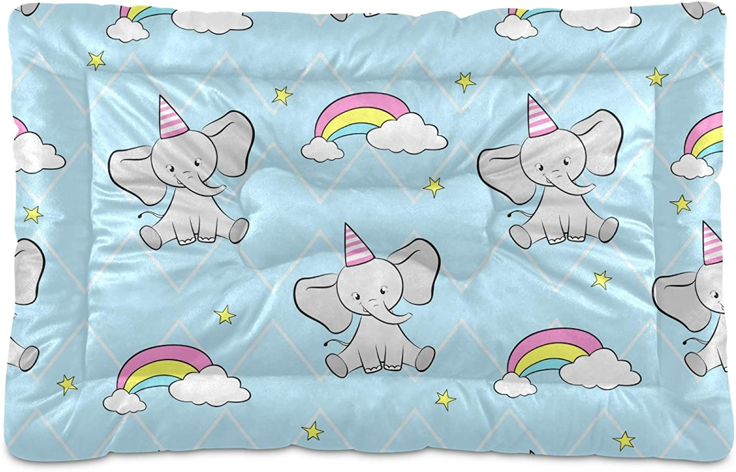 Dog Bed Mat Cute Ranking TOP18 Elephant Pet Kennel Pad Slip Mac New item Non Crate Soft