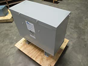 Acme Electric T3533411S Dry Type Distribution Transformer, 3 Phase, 480V Delta Primary Volts, 240V Delta/120 Tap Secondary Volts, 60 Hz, 15 kVA