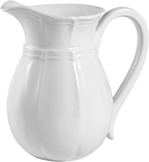 Mikasa French Countryside Pitcher, 47-Ounce, Ivory - 5093641