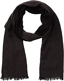 John Varvatos Men's Scarf Ombre Solid Dual Face Merino Wool