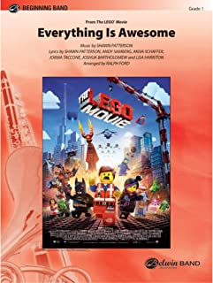 Everything Is Awesome (Awesome Remixxx!!!) (from The LegoÆ Movie) - Music by Shawn Patterson, lyrics by Shawn Patterson, Andy Samberg, Akiva Schaffer, Jorma Taccone, Joshua Bartholomew, and Lisa Harriton / arr. Ralph Ford - Conductor Score
