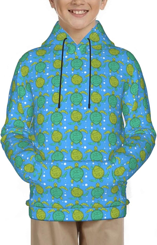 Sea Turtles Nautical Ocean Mint Green Sweatshirt Pullover Hoodie