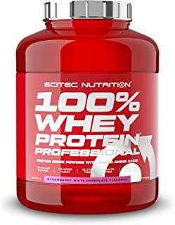 Scitec Nutrition - Post-Workout Muscle Growth & Recovery, 100% Whey Protein Powder Shake - Strawberry White Chocolate Flav...