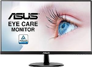 "ASUS VP249HE, Monitor Eye Care (Full HD, IPS, Sin Marco, Antiparpadeo, Filtro de Luz Azul), HDMI, 23.8"", Negro"