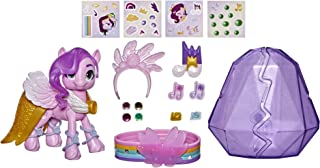 My Little Pony: A New GenerationMovie Crystal Adventure Princess Petals- 3-Inch Pink Pony Toy, Surprise Accessories, Fri...