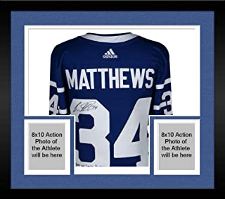 Framed Auston Matthews Toronto Maple Leafs Autographed Toronto Arenas Adidas Authentic Jersey with