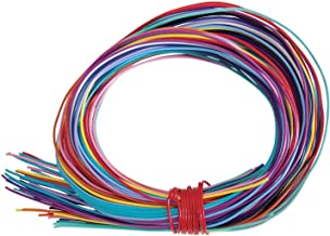 2mm 16ft per Coil 12ga Crafting Creacraft Beading Wire Set Basic: 6 Colors of Artistic Anodized Aluminum Wire for Jewelry