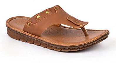 INBLU Tan Flip Flop For Men, 8 UK