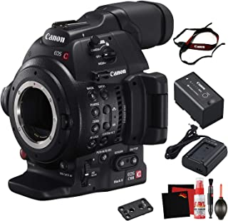 Canon EOS C100 Mark II Cinema EOS Camera with Dual Pixel CMOS AF (Body Only) Body Only International Model