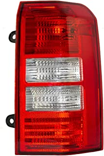Taillight Tail Lamp Lens Passenger Replacement for 08-16 Jeep Patriot SUV 5160364AE