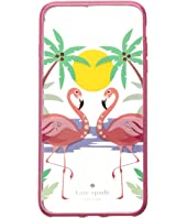 Kate Spade New York - Jeweled Flamingos Phone Case for iPhone® 7 Plus/iPhone® 8 Plus