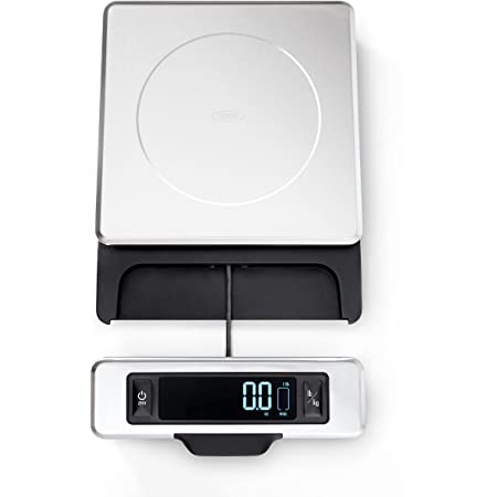 OXO Good Grips 11-Pound Stainless Steel Food Scale with Pull-Out Display