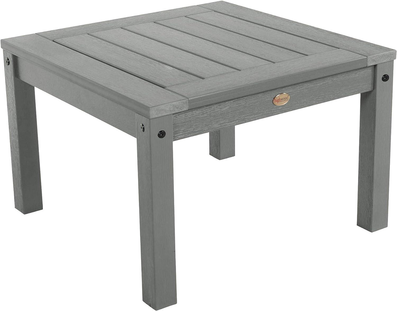 Highwood AD-DSST1-CGE Adirondack Side Table, Coastal Teak