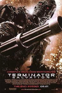 terminator salvation 2009 poster