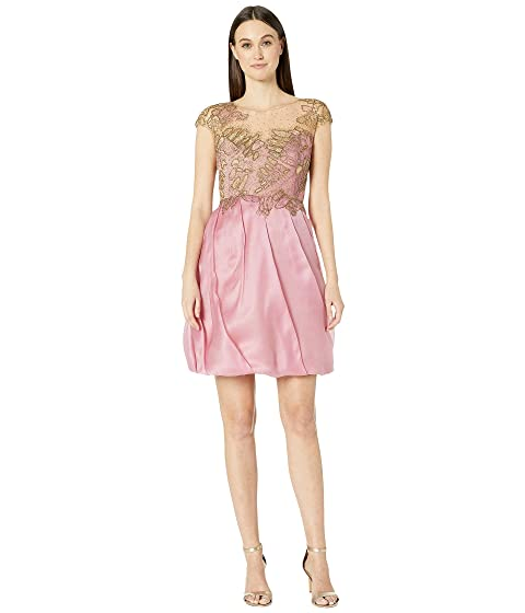 Marchesa Lace Cocktail with Butterfly