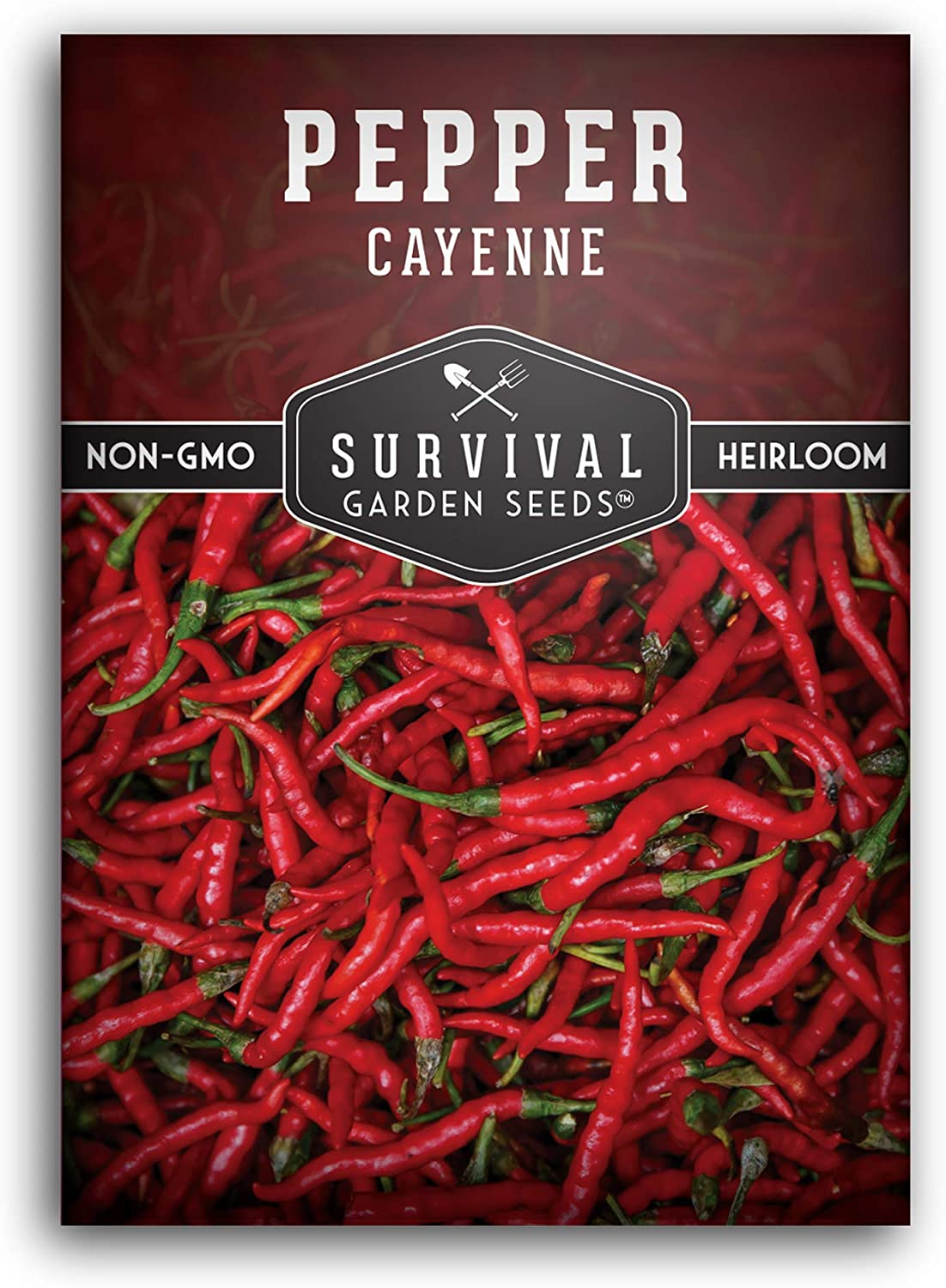 Survival sold out Garden Max 59% OFF Seeds - Red Hot Seed Cayenne for Pepper Planting
