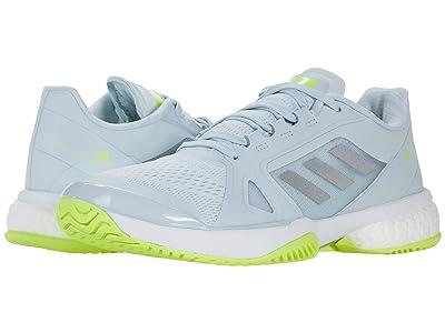 adidas aSMC Barricade Boost (Halo Blue/Silver Metallic/Solar Yellow) Women
