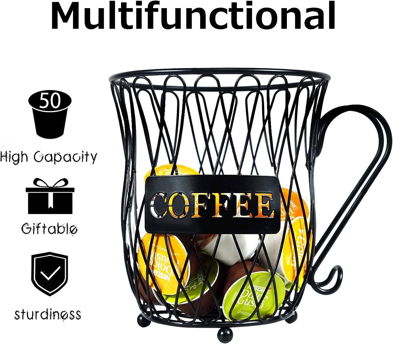 alpha-ene.co.jp 50 k cup storage organizer Large Capacity Coffee ...