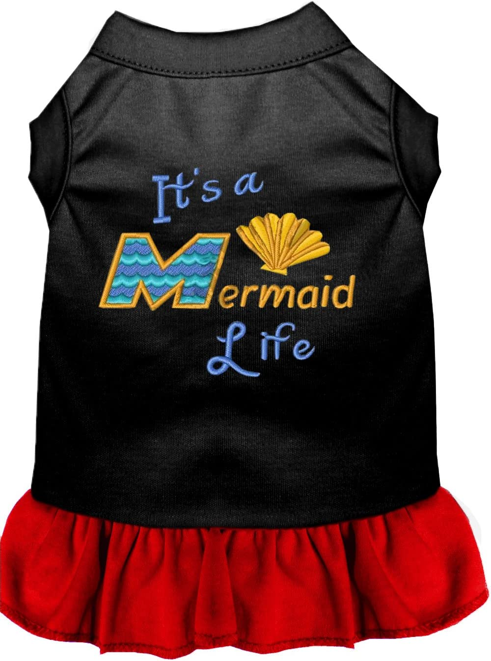 Mirage Sale SALE% OFF Pet Products Mermaid Embroidered Max 49% OFF Dress Life Dog