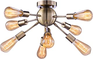 industrial semi flush mount light