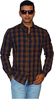 Rio Lifestyle Mens Shirts Cotton Casual Full Sleeves Shirts for Men