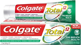 Colgate Total 12 Pro Breath Health Toothpaste, 75ml