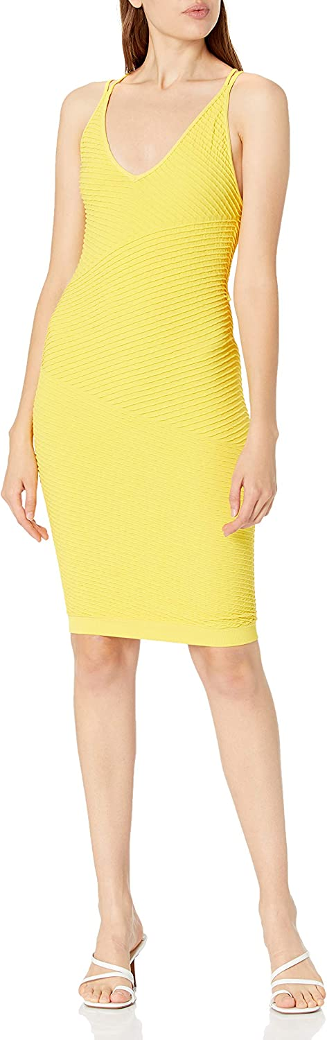 At the price of surprise BCBGeneration Denver Mall Women's Strappy Sheath Cutout Dress