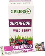 GREENS Plus Organic Wild Berry StiCKpaCK B, 0.3 OZ