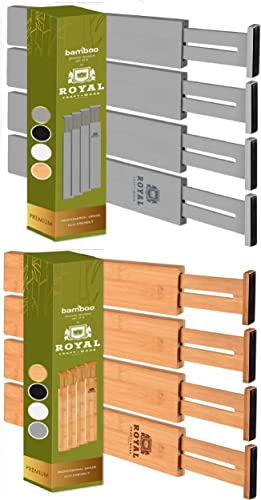 discount Drawer Dividers 22IN, online Gray and Natural popular colors outlet sale