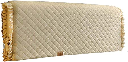 Soft Stretch Headboard Cover Bed Headboards Slipcover with Wood Leather