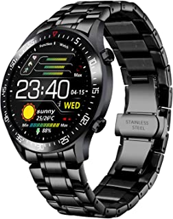 LIGE Smart Watch Moda Classic Acciaio Inossidabile Fitness Sport Orologio Impermeabile IP68 Con Orologio Uomo con Monitora...