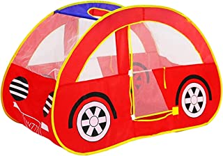 Lightweight Camping Tent, Kids Play Tent Foldable Children Toys Tent Car Shape Outdoor Game Large Tent Play House Toys The...