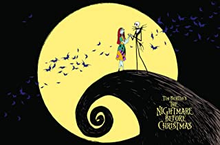 "Trends International The Nightmare Before Christmas Moonlight Wall Poster 22.375"" x 34"""