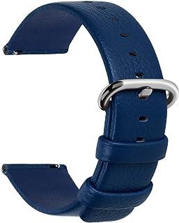 b5adcae456 Fullmosa Uli Piel Correa Reloj, 12 Colores para Correa/Banda/Pulsera/Strap
