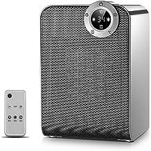 chauffe-eau Chauffage céramique, avec 8 heures minuterie et affichage LED, protection contre la surchauffe, Conseil de pro...