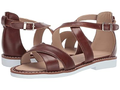Elephantito Bahia Crossed Sandal (Toddler/Little Kid/Big Kid) (Apache) Girls Shoes