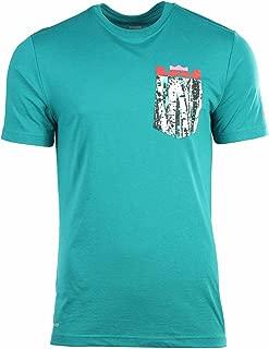 Men's Dri-Fit Le Bron Christmas Pocket T-Shirt-Green