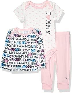 Baby Girls 3 Pieces Pants Set