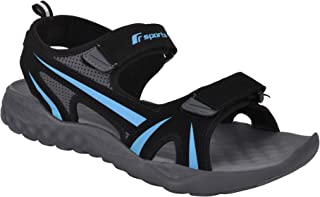 Fsports Ben Series Black T Blue Casual Sandal for Men