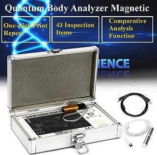JYtop 2019 New 4th GEN Quantum Magnetic Resonance Health Analyzer English+French