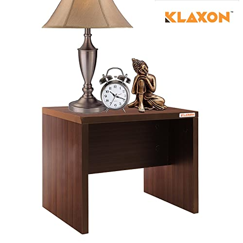 Klaxon Egan Side Table (Matte Finish, Walnut)