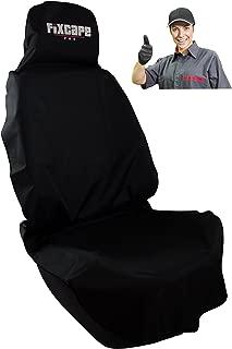 fixcape universal Autositzbezug Autositzauflage Sitzbezug Schonbezug Werkstatt-sitzschoner Sitzauflage Autositz-bezüge Auto Fahrersitz wasserdicht